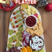 How To Make A Christmas Snack Platter