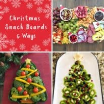 Holiday Snack Boards: 5 Ways