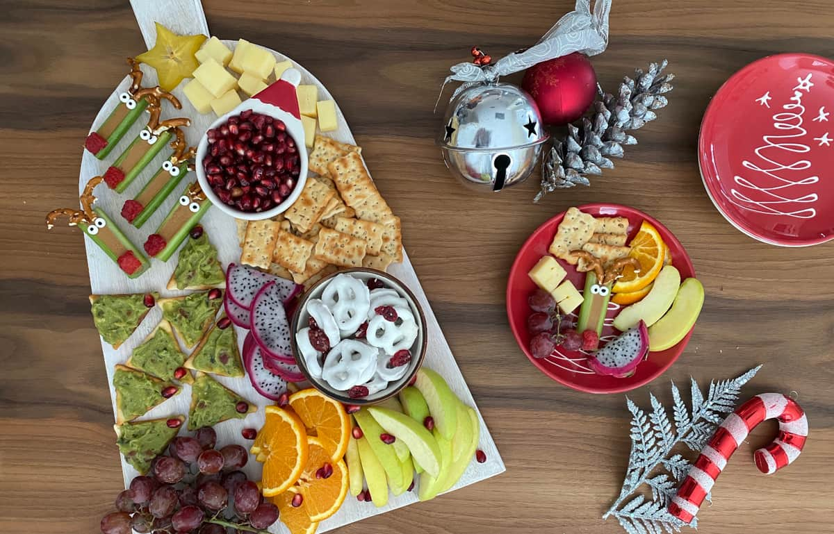 Christmas Snack Platter Healthy Family Project
