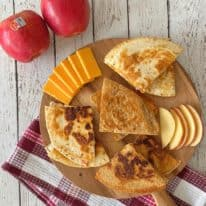 Kid-Friendly Apple Quesadillas with Autumn Glory® Apples
