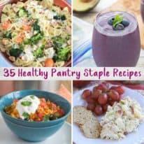35 Healthy Pantry Staple Recipes