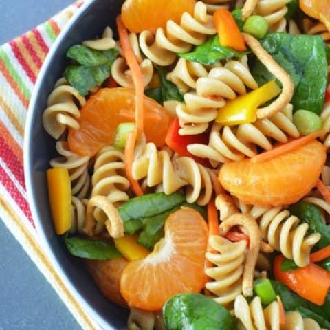 Chinese Mandarin Pasta Salad
