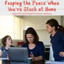 Keeping the Peace When You're Stuck at Home