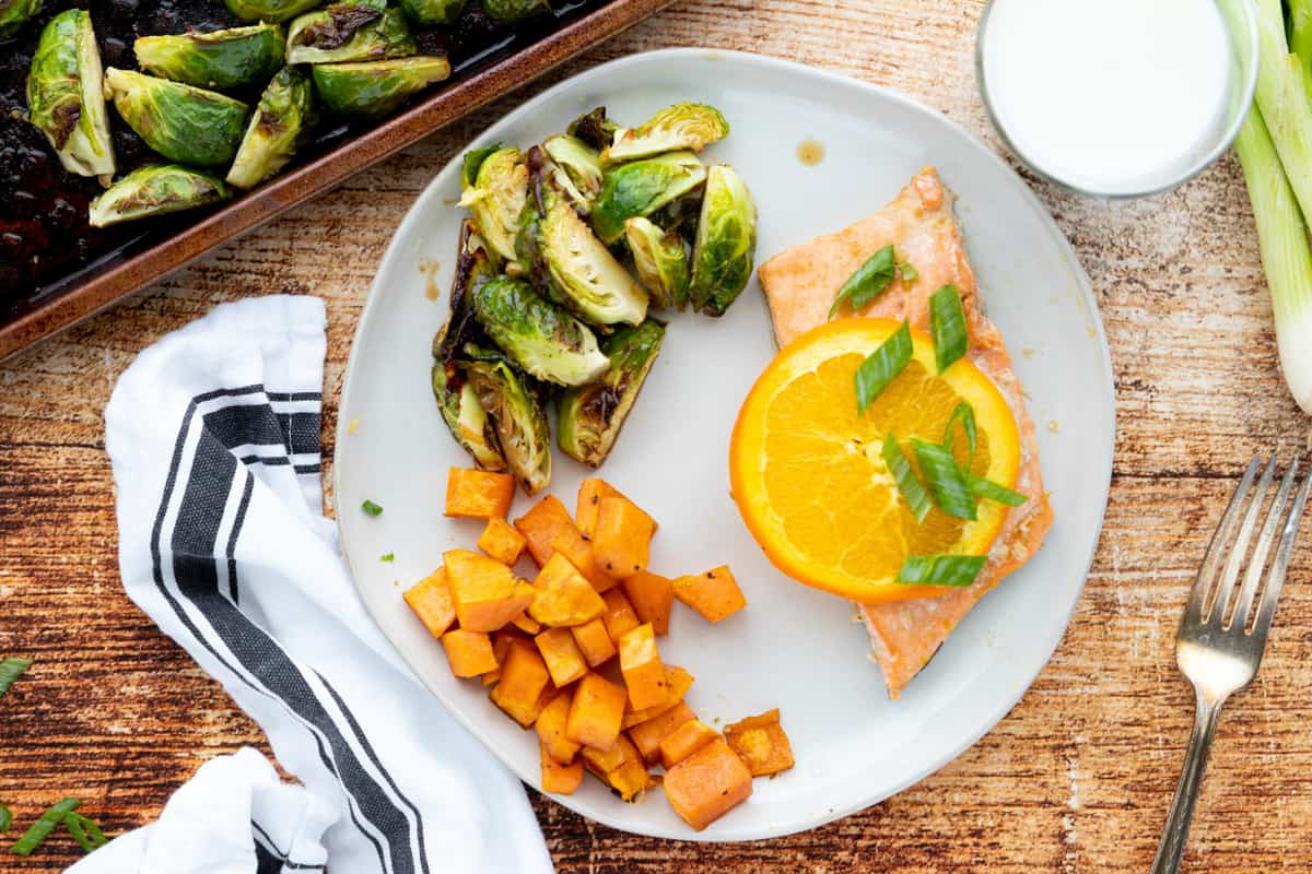 how to make orange soy glazed salmon