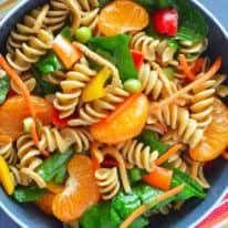 Vegan Chinese Mandarin Pasta Salad