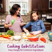 Cooking Substitutions: Easy Swaps for Common Ingredients