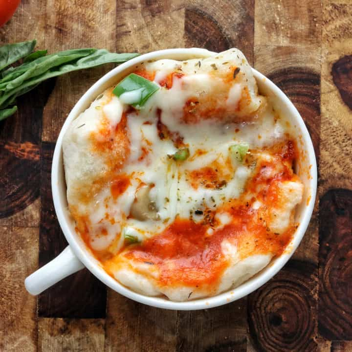 Microwave Mug Pizza