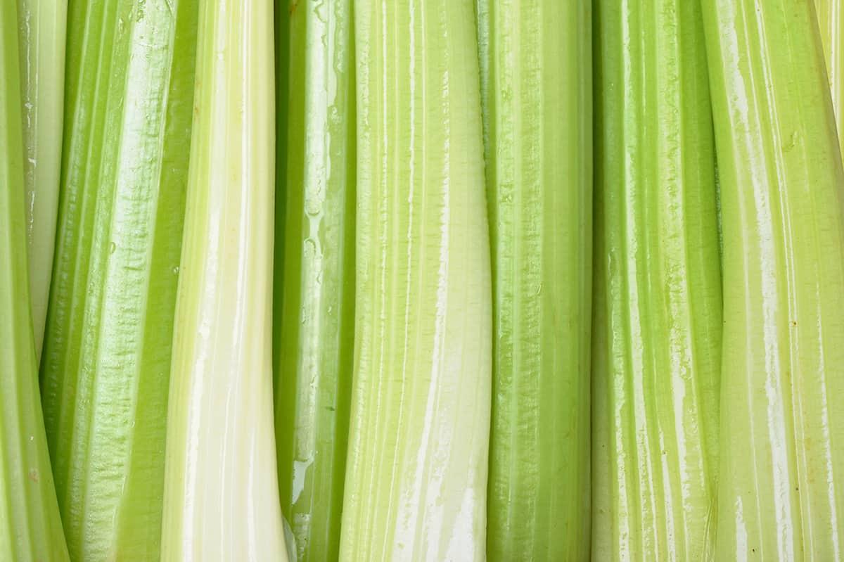 stalks of celert