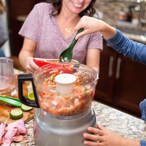 Charli's Easy Homemade Salsa