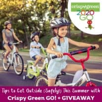 Tips to Get Outside (Safely!) This Summer with Crispy Green GO!