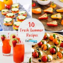 10 Fresh Summer Recipes with DelFrescoPure®