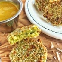 No-Waste Broccoli Veggie Nuggets