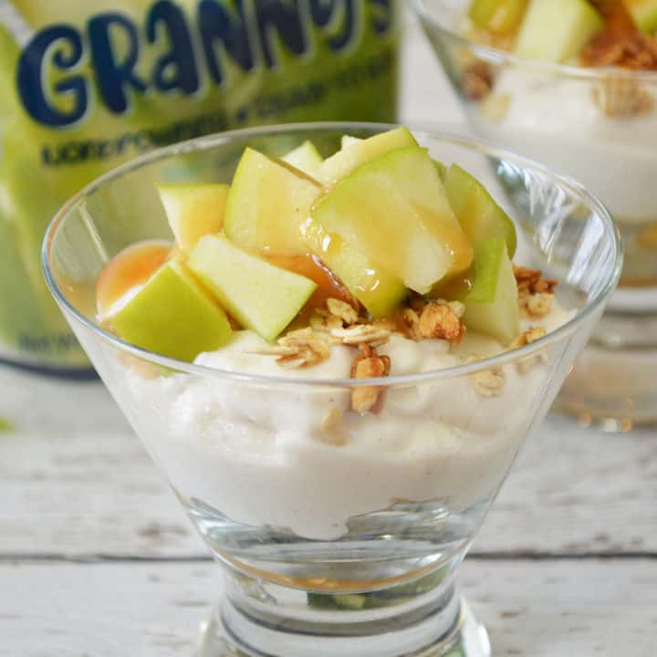 Caramel Apple Yogurt Parfait