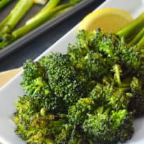 Lemon Garlic Roasted Artisan Broccoli