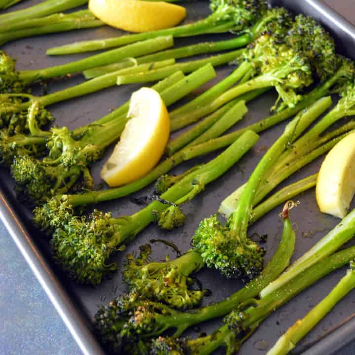 Lemon Garlic Roasted Artisan Broccoli