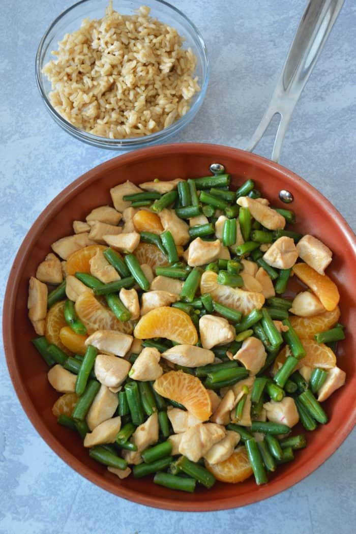 how to make Mandarin Chicken Stir-Fry recipe