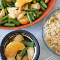 Mandarin Chicken Stir-fry with Green Beans
