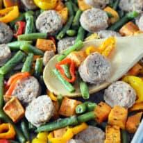 Italian Sausage & Veggie Sheet Pan Dinner