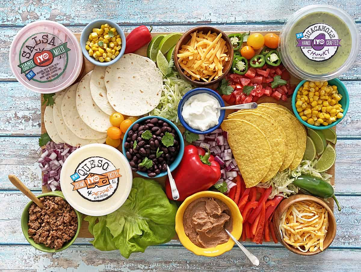 How To Build The Ultimate Taco Board