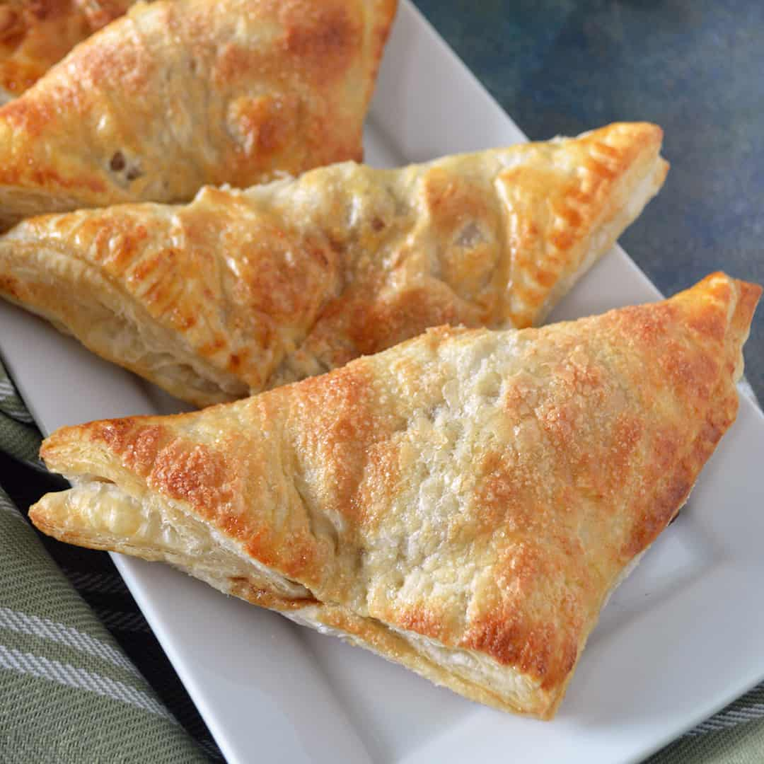How to make Puff Pastry Apple Turnovers