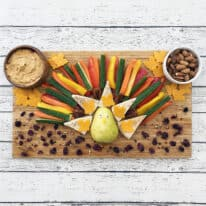Thanksgiving Turkey Snack Board