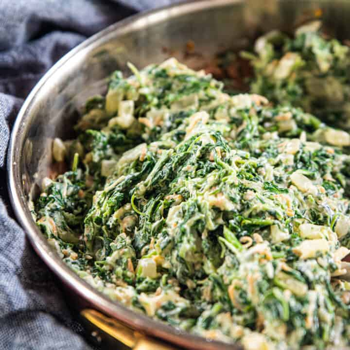 Lightened-Up Spinach Dip