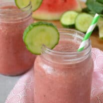 Watermelon Cucumber Smoothie