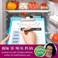 Episode 63: How to Meal Plan