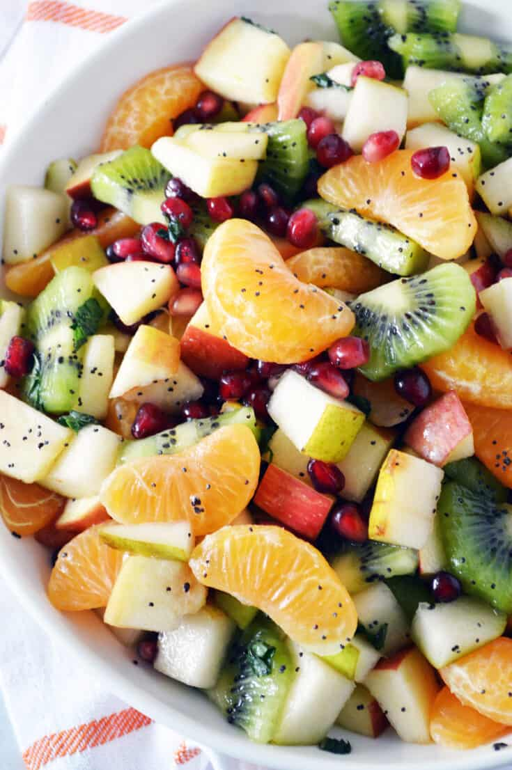 Winter Fruit Salad Recipe With Fresh Fruit Healthy Family Project
