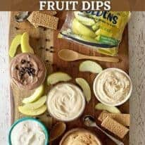 greek yogurt fruit dip pin