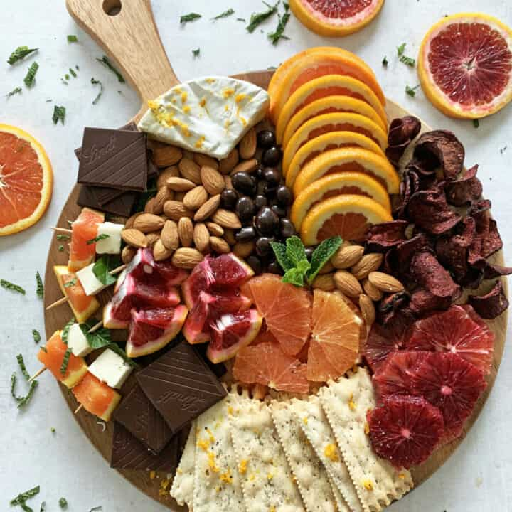 Immunity-Boosting Citrus Grazing Board