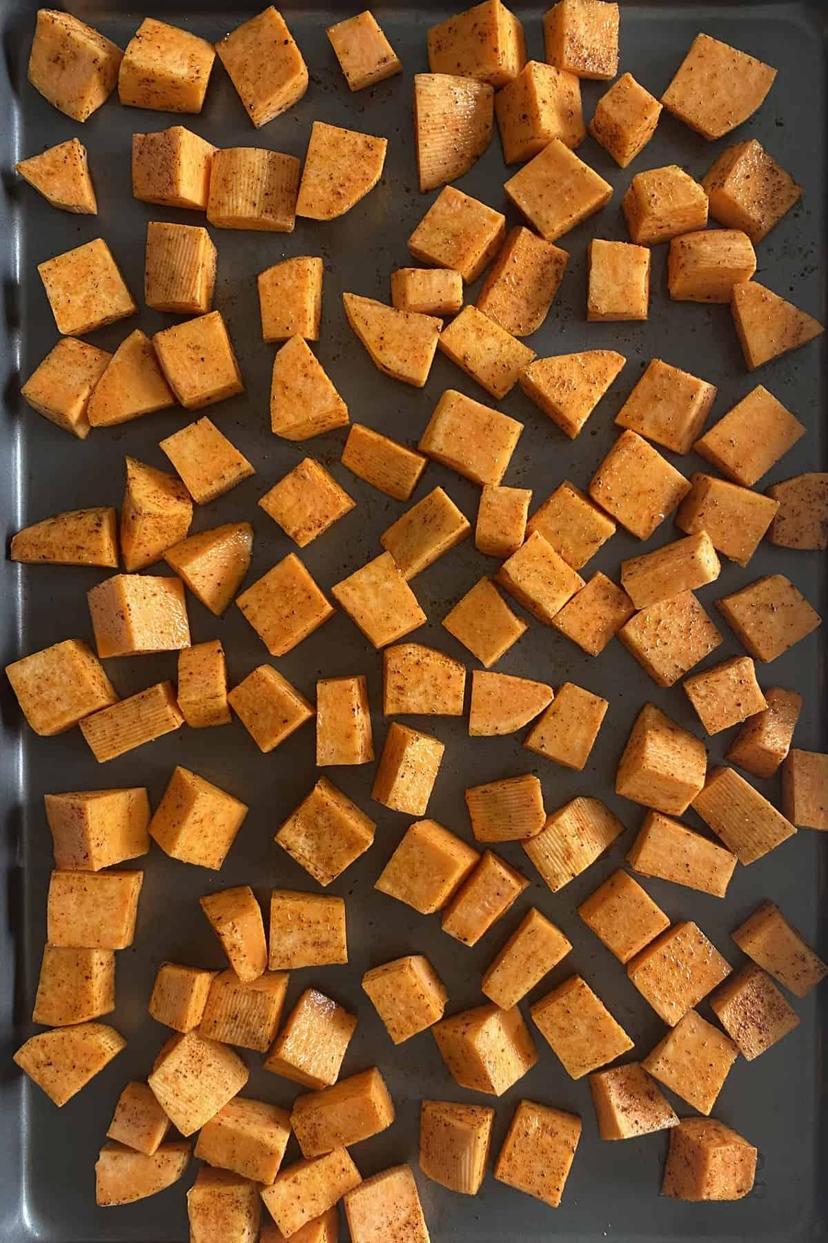 Healthy Roasted Sweet Potato Taco Bowl
