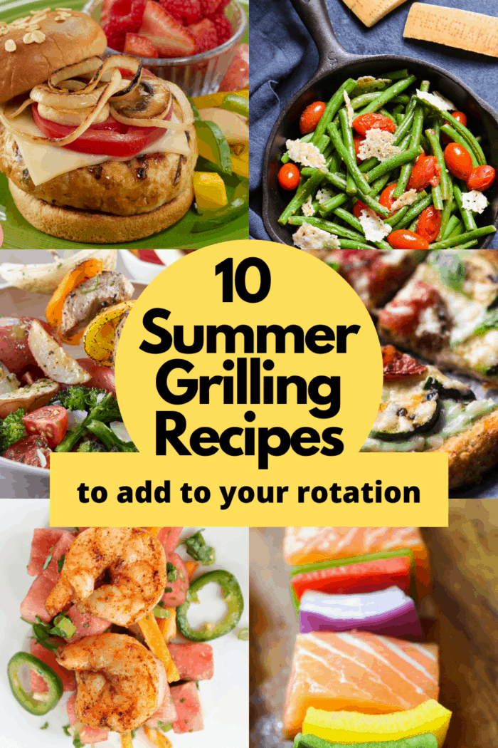 10 Summer Grilling Recipes to Add to your rotation feature image