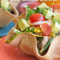 Tex Mex Taco Salad Bowls