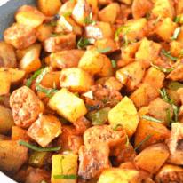 Plant Based Sausage and Potato Skillet