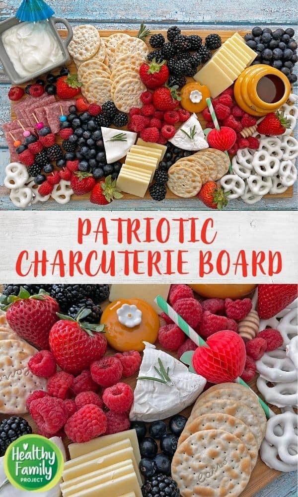 Best Patriotic Charcuterie Board