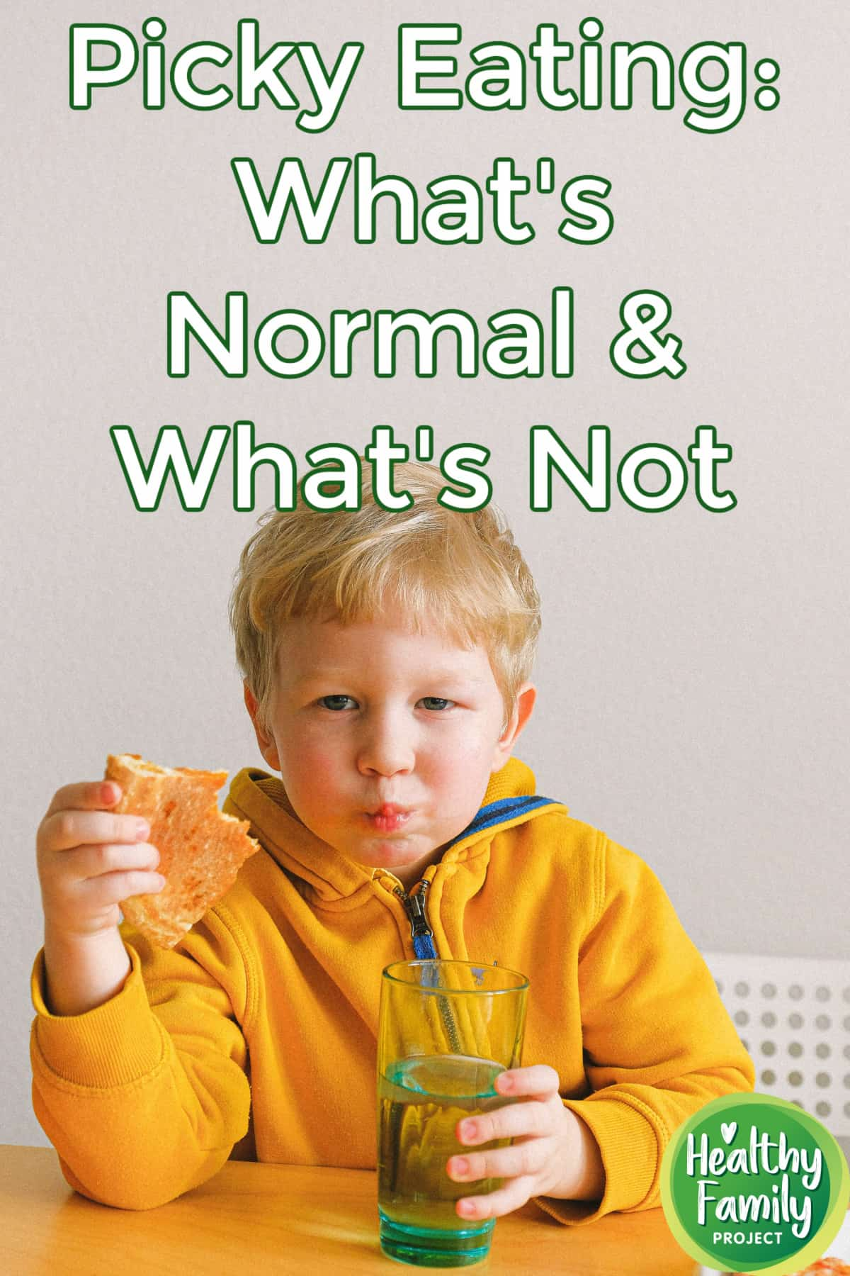 Picky Eating: What's Normal & What's Not