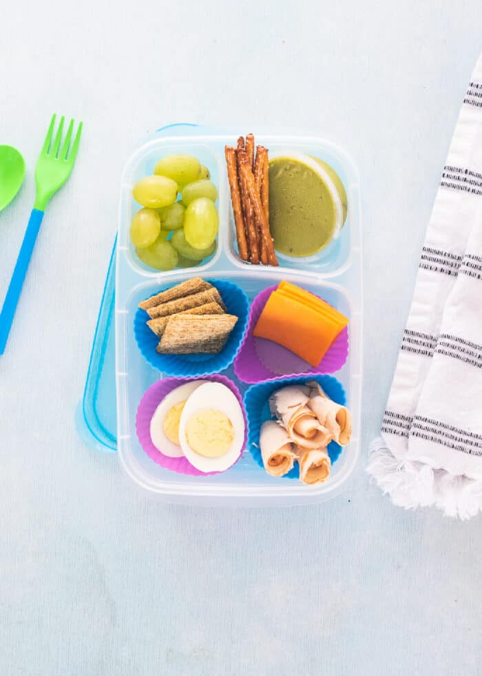 Lunches kids can make themselves