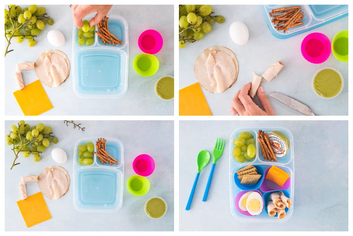 Easy Lunches kids can make themselves