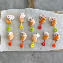 Frozen Creamsicle Yogurt Bites