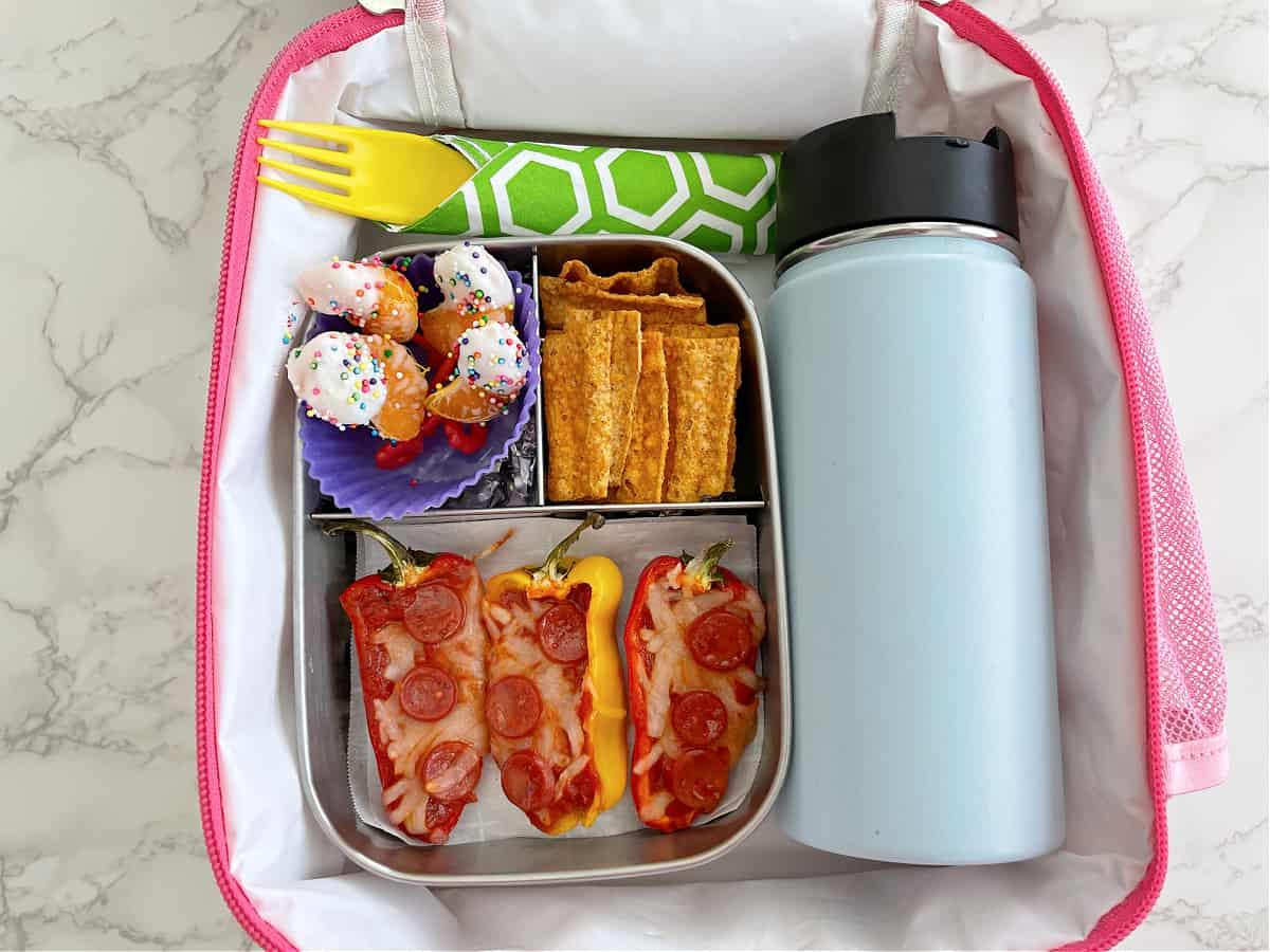 Mini Pizza Peppers Lunchbox