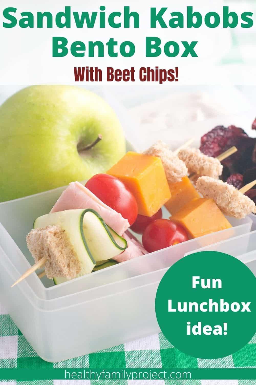 sandwich kabobs bento box pinterest image