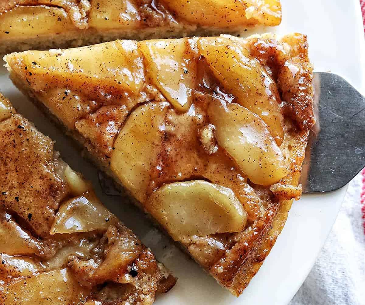 Easy Upside Down Apple Pancake