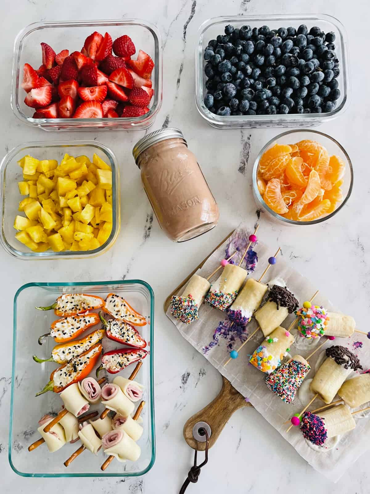 Dairy Filled Snack Board