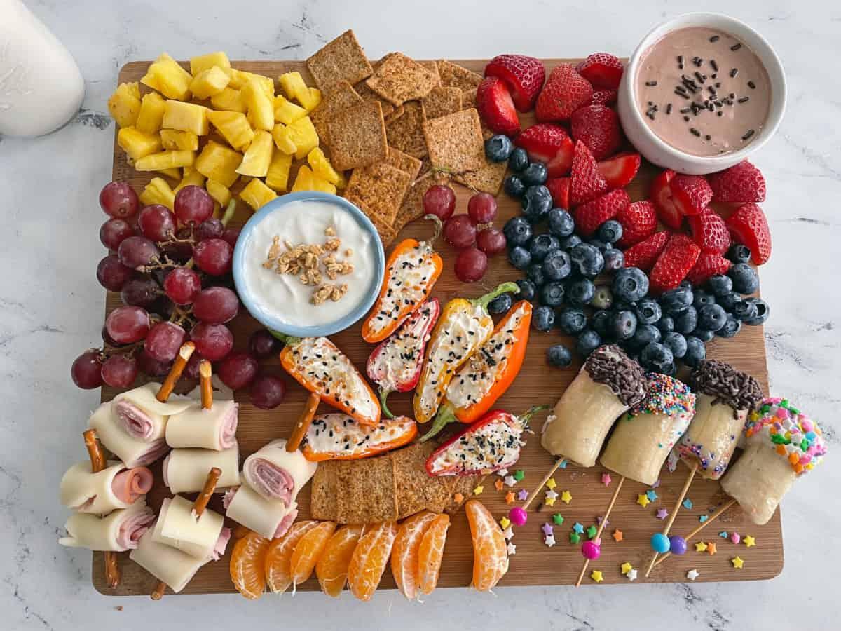 Best Dairy Kid Friendly Snack Board