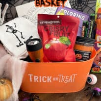 How to make a You've Been Boo'd Basket