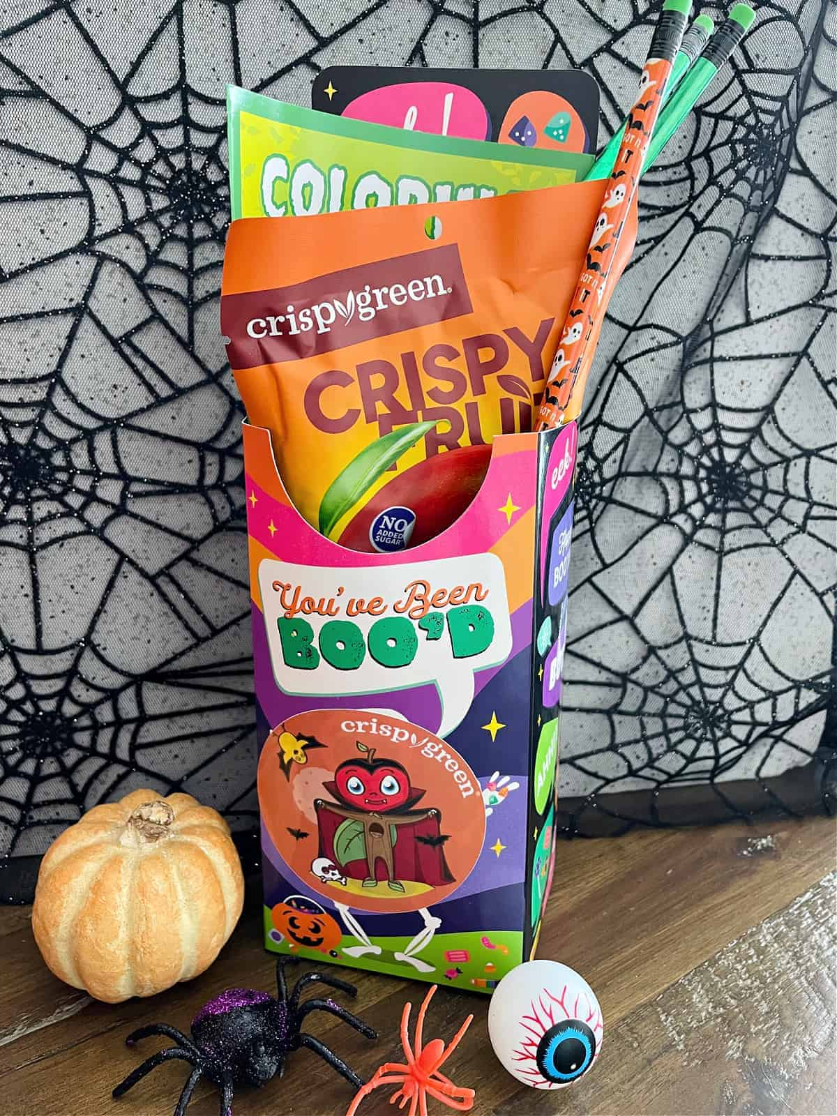 How do you have Boo'd Baskets for Halloween