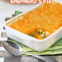 Holiday Leftovers Shepherds Pie