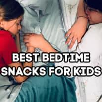 bedtime snacks