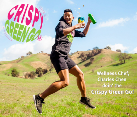Celebrity-Wellness-Chef-Charles-Chen-doin-the-Crispy-Green-Go (1)